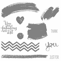 Work Of Art Wood Stamp Set by Stampin' Up!
