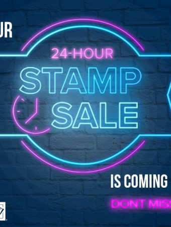 A marquee announcing an upcoming 24 hour sale on Sept 23, 2020