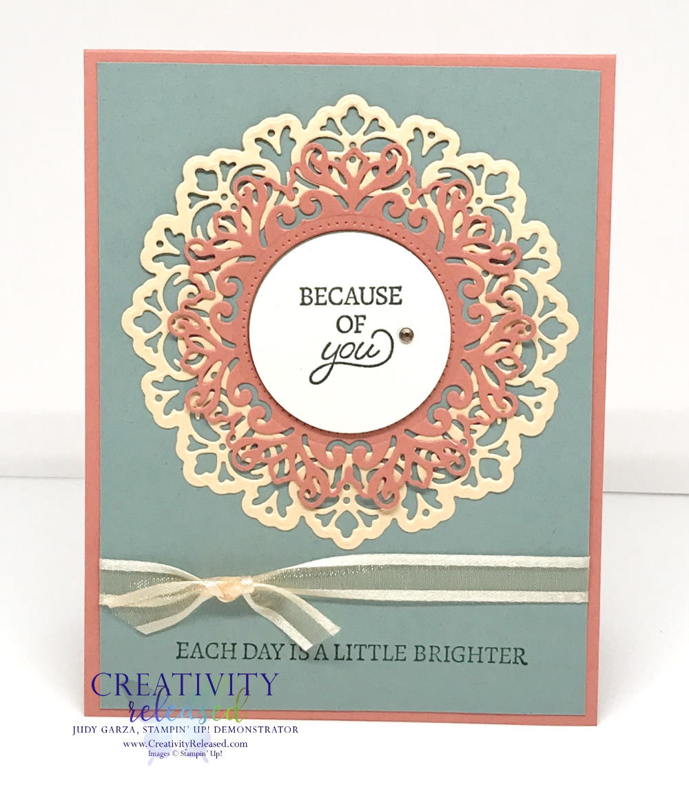 A greeting card using the
